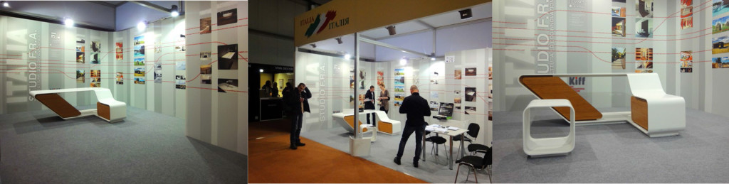 Kiev International Furniture Forum . Stand Studio FRA