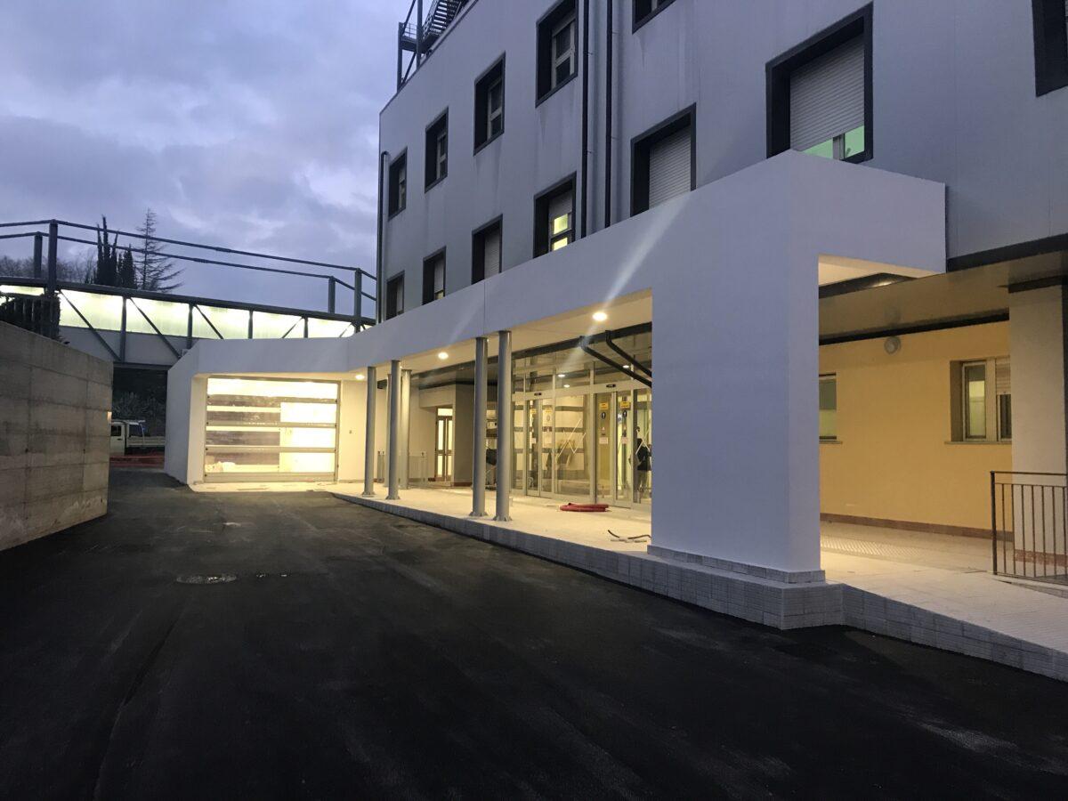 Inaugurato il nuovo pronto soccorso di Caltanissetta progettato da StudioFRA