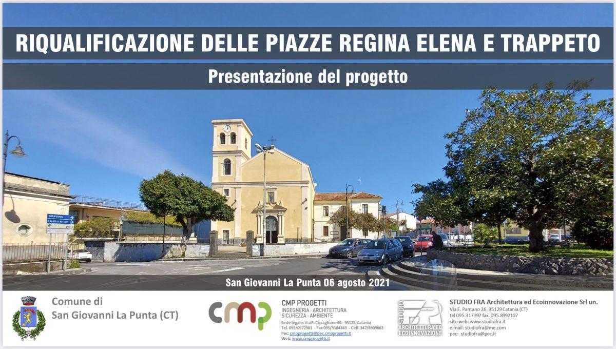 Presentato il nuovo progetto per le piazze di Trappeto.